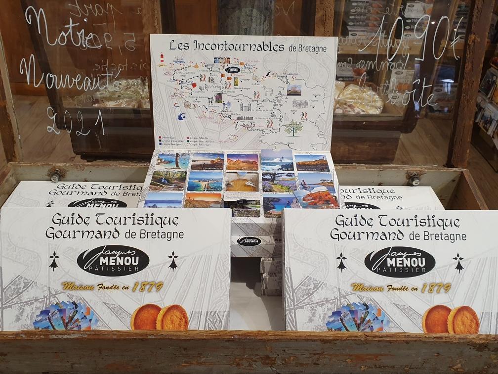 coffret guide touristique gourmand nretagne